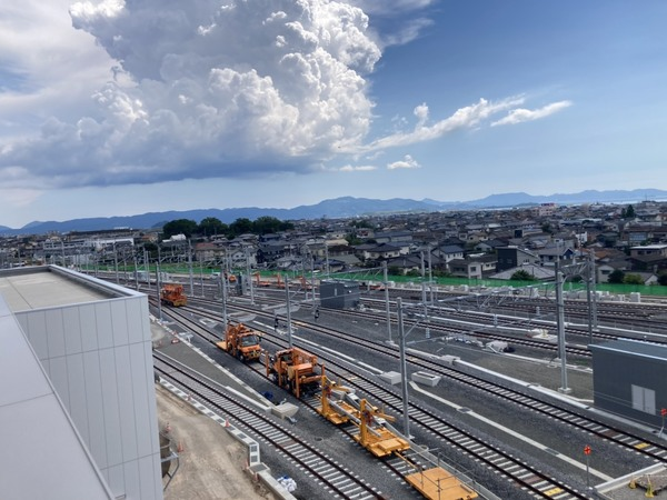 新幹線 車両基地